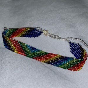 Other - 🌈Handmade Miyuki beaded adjustable  bracelet